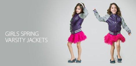 Girls Spring Varsity Jackets