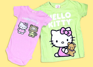Hello Kitty Kid's Apparel