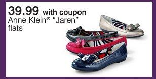 39.99 with coupon Anne Klein®  'Jaren' flats.