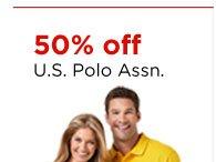50% off U.S. Polo Assn.