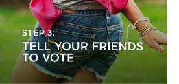 Step 3: Tell Your Friends To Vote