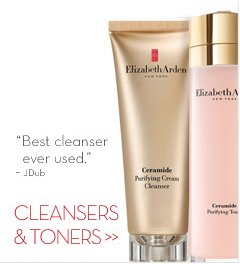 """CLEANSERS & TONERS. """"Best cleanser ever used."""" - JDub."""