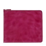 Paul Smith Accessories - Pink Burnished Leather iPad Case