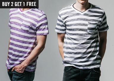 Shop Trendy Tees: Ombre, Stripes & More