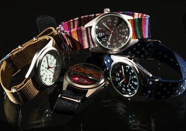 Shop $19.99 Patterned Field Watches