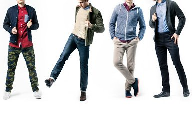 Shop The Slim Pants Style Guide