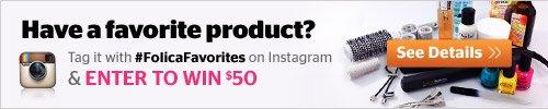 Folica FAvorites Instagram Contest