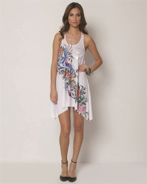 Ed Hardy War Of The Roses Dress