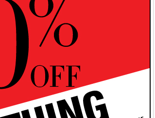 Enjoy 40% Off EVERYTHING, for a limited time! Shop Now!