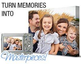 Turn Memories into Masterpieces