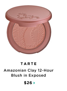 Tarte Amazonian Clay 12-Hour Blush in Exposed, $26