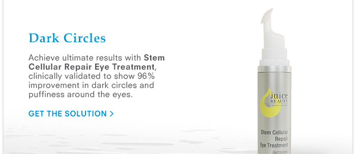 Dark Circles - Stem Cellular Repair Eye Treatment