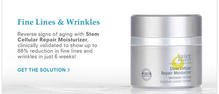 Fine Lines & Wrinkles - Stem Cellular Repair Moisturizer