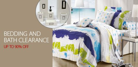 Bedding and Bath Clearance