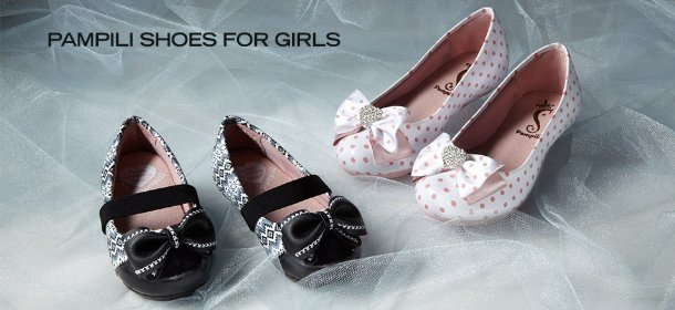 PAMPILI SHOES FOR GIRLS, Event Ends March 6, 9:00 AM PT >