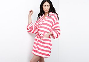 Sleeping In: Robes, PJs & More