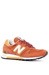 The 1300 Made in USA Sneaker in Orange
