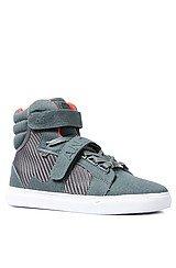 The Propulsion Hi Sneaker in Grey Denim