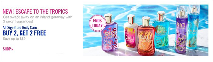 Signature Collection - Buy 2, Get 2 Free