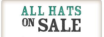 All Hats on Sale