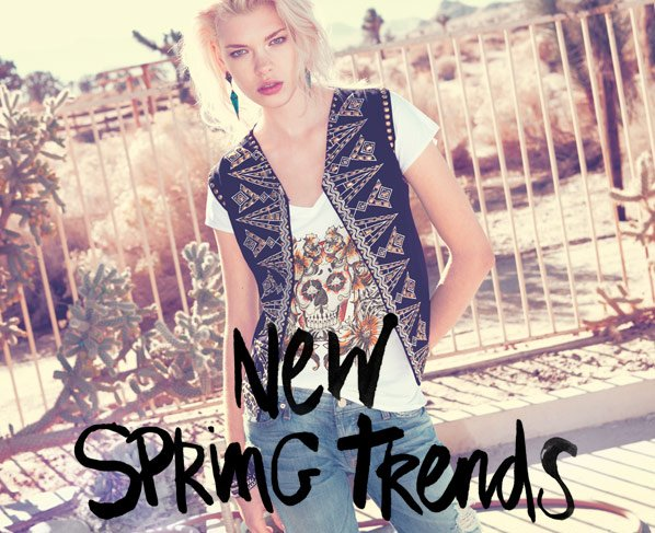 NEW SPRING TRENDS