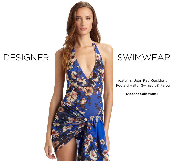 Shop Designer Swimwear