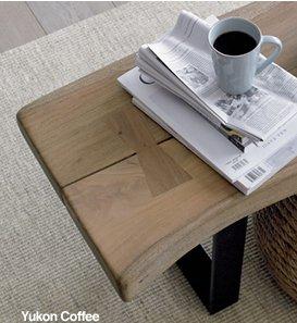 Yukon Coffee Table-Bench $699.
