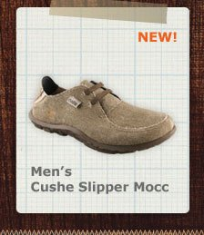 Men's Cushe Sliper Mocc