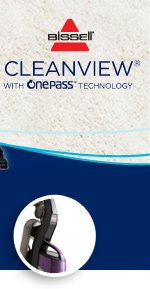 BISSELL® CleanView® with OnePass Technology™