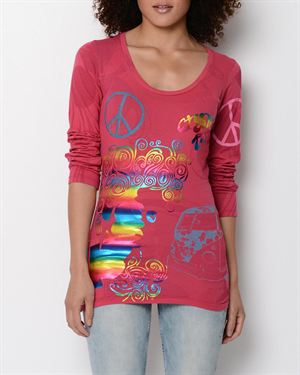 Crystal Rock Free Spirit Long-Sleeved Shirt- Made In USA