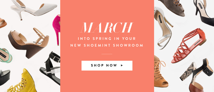 March into Spring in your New ShoeMint Showroom
