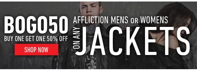 Affliction Mens or Womens Jackets
