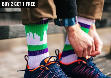 Shop Take a Walk in Your Hood: City Socks