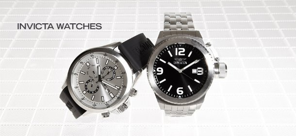 INVICTA WATCHES, Event Ends March 7, 9:00 AM PT >