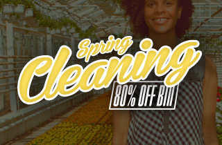 Spring Cleaning: 80% Off Bin