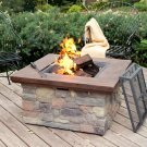 Bond Galiano Wood Burning Fire Pit Table