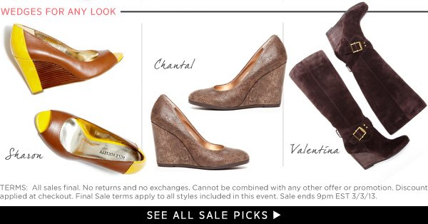 Wedges for Any Look