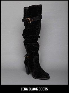 LENA BLACK BOOTS