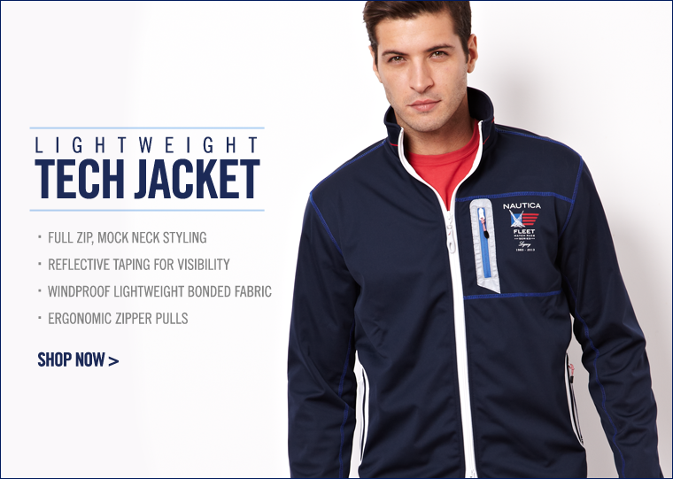 Style Meets Function - Lightweight Tech Jacket. Shop now.