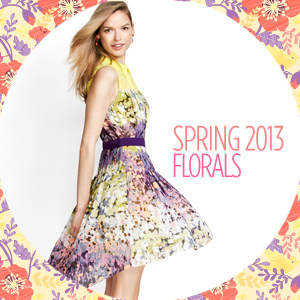 FLORALS: SKIRTS, DRESSES & ACCESSORIES