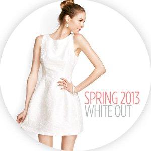 WHITE OUT: DRESSES, PANTS & SHOES