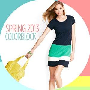 COLORBLOCK: TOPS & DRESSES