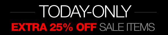 Today-Only - Extra 25% Off Sale Items