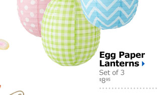 Egg Paper Lanterns