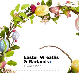 Easter Wreaths & Garlands