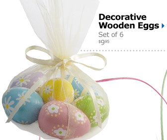 Decorative Wooden Eggs