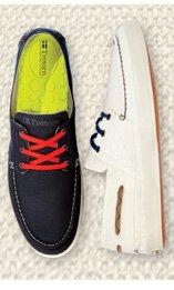Tretorn Otto Canvas Boat Sneakers
