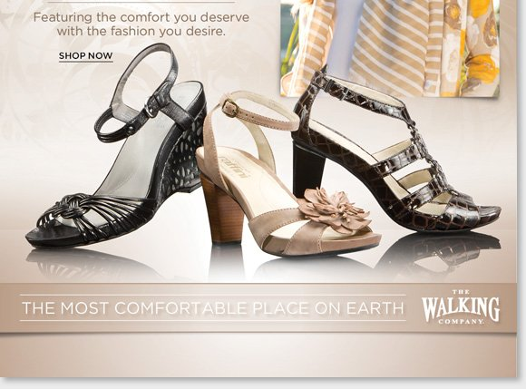 We guarantee that our prices are fair. If you purchase shoes from us at regular price and see them advertised for less, we'll give you triple the difference in store credit. Customer service is our highest priority, and our associates are the most highly trained & responsive professionals in the industry, with access to the latest technology to ensure you always get the proper fit and the ideal footwear for your specific needs. We offer the world's best comfort footwear, including premier brands, hard-to-find brands & unique styles that are exclusively found here and nowhere  else. The Walking Company mission is to help you walk in comfort in all aspects of your life. Our highly-trained comfort fit specialists will help you with all of your comfort shoe needs. Customer service is our number one priority and your satisfaction is guaranteed. We are dedicated to bringing you the best selection of the finest brands from around the world. When you purchase from The Walking Company you are making an investment in your health and wellness; we will make sure you can select from the best, most fashionable and most technically-advanced comfort shoes available. Our product development team is constantly on the move, searching every corner of the globe to find shoe brands  featuring the latest breakthroughs in comfort shoe technology.