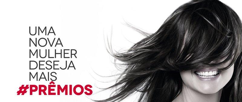 Uma nova mulher deseja #PREMIOS
