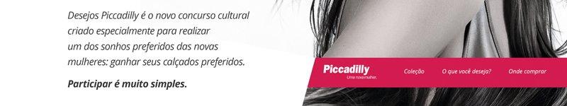 Desejos piccadilly é o novo concurso cultural criado especialmente para realizar um dos sonhos preferidos das novas mulheres: ganhar seus calçados preferidos